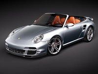porsche 911 turbo sport 3d model