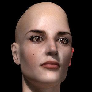 sexy female 3d model