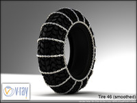 tire 46 (with chain 3)