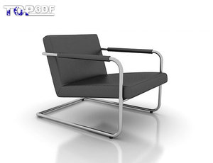 verdesign elle armchair 3d model