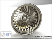 wheel 23 3d model