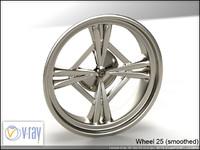 wheel 25 3d model