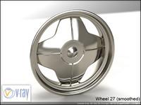 wheel 27 3d model