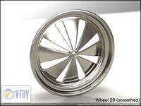 wheel 29 3d model