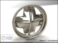 wheel 31 3d model