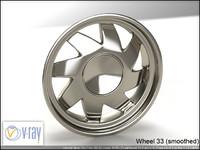 wheel 33 3d model
