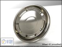 wheel 40 3d model
