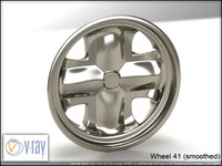 wheel 41 3d model