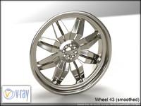 wheel 43 3d model