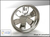 wheel 44 3d model