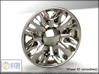 wheel 50 3d model