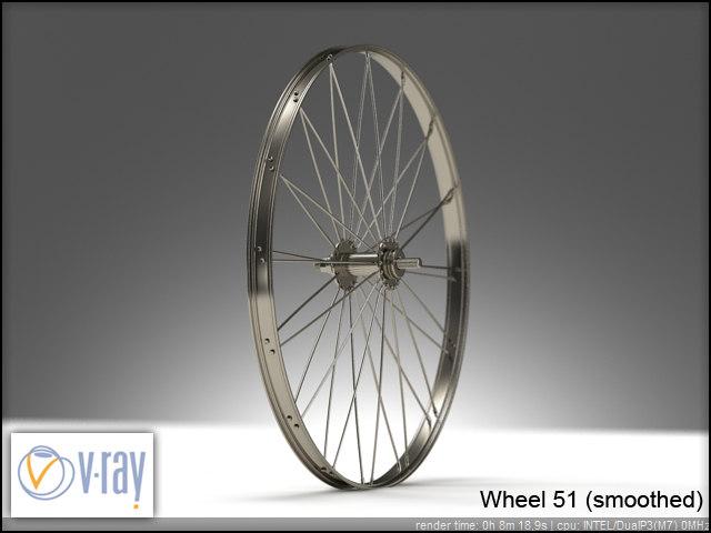 wheel 51 3d model