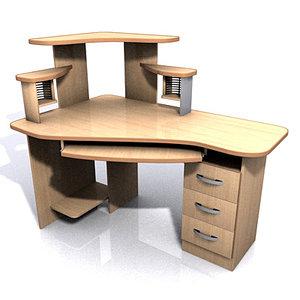 desktop escritorio 3d model