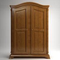 case cabinet 3d model