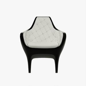 bd showtime armchair 3d model