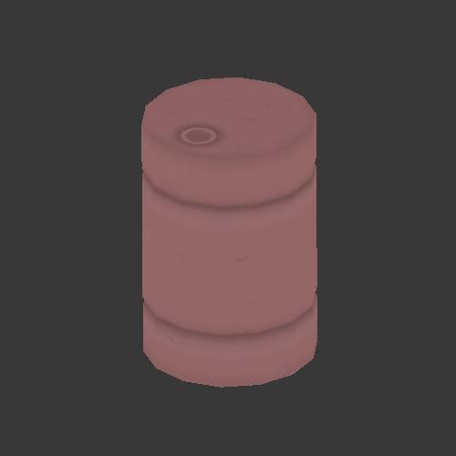 barrel scenery props 3d model