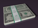 two dollar bill 3D models