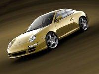 porsche carrera s 2005 3d model