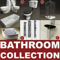 bathroom set 3d model