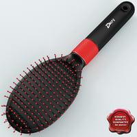 hairbrush v1 3d model