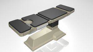 medical table 3d model
