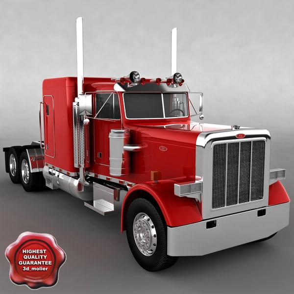 trailer 359 3d model