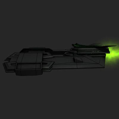 fighter bays 3d model