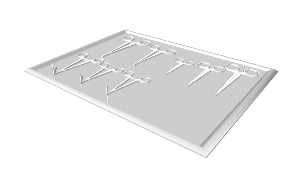 utensil tray 3d model