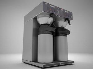 bunn airpot maker 3d model