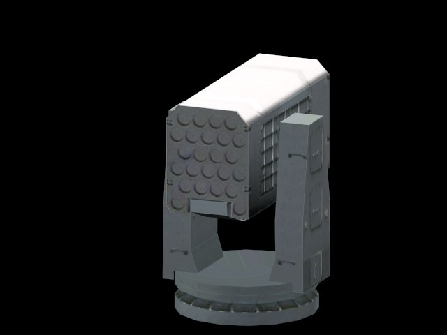missile systems 3d model
