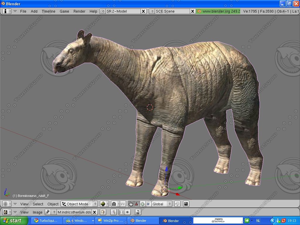 indricotherium 3d model