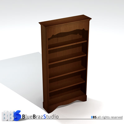 free 3ds mode library bookcase