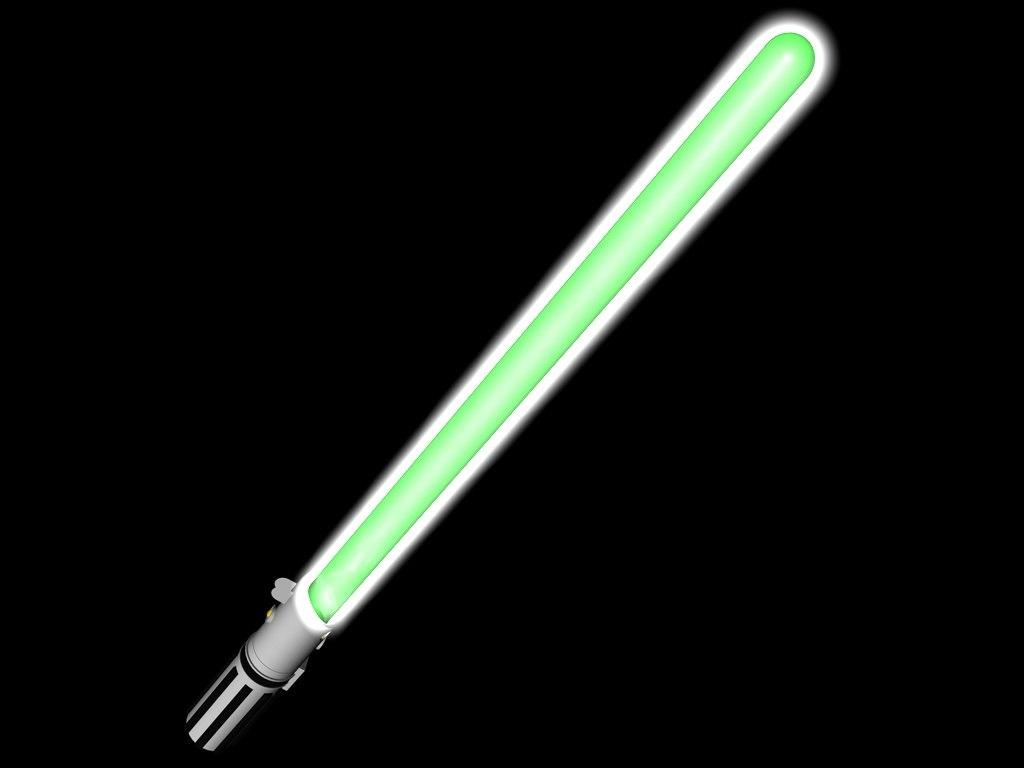 free lightsaber light saber 3d model