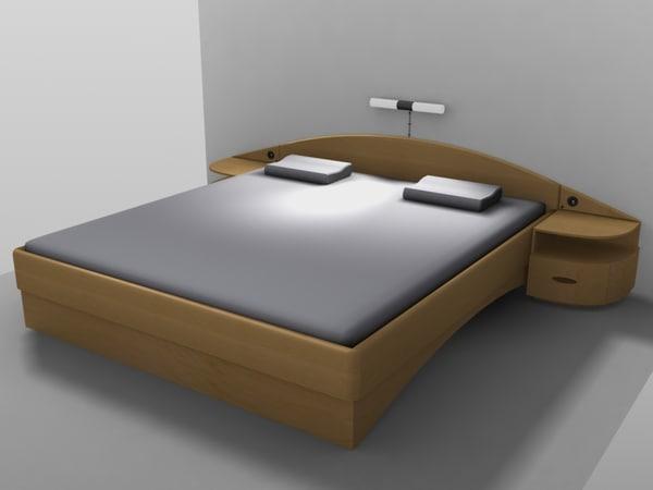 bed designed max free