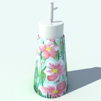bottle soap 3d model