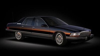 buick roadmaster sedan 3d model