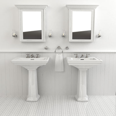 classical sinks 3d model