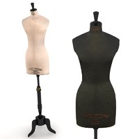 Stockman Mannequin - Display Bustform - Workroom Bustforms