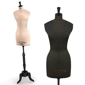 stockman mannequin - display 3d model