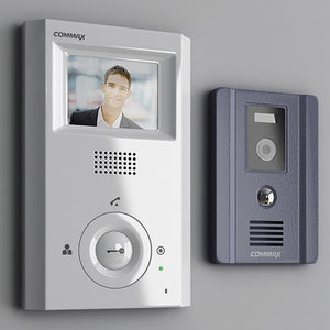 commax video phone 3d model
