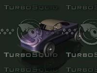 fantasy car 3d model