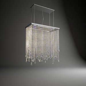 cattelan venezia pendant lamp 3d model