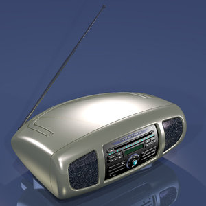 listen 3d model