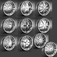 10 Wheel Rims 031-040