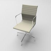aluminium armchair 3d model