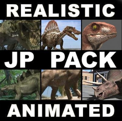 pack animations character 3d model