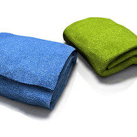towels toallas 3d model