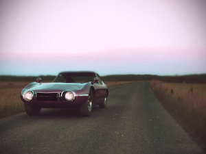 3ds max toyota 2000 gt car