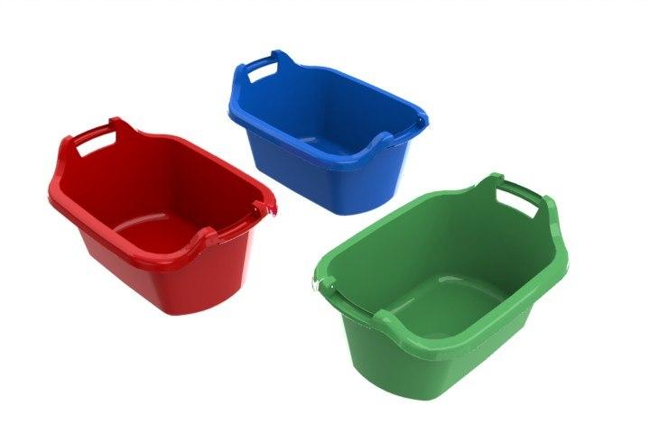 baskets laundry 3d model