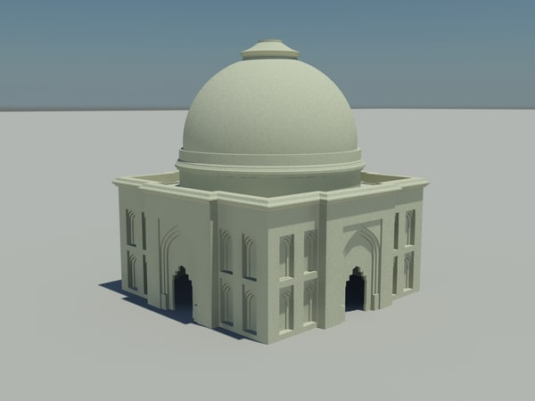 3ds max indian historical